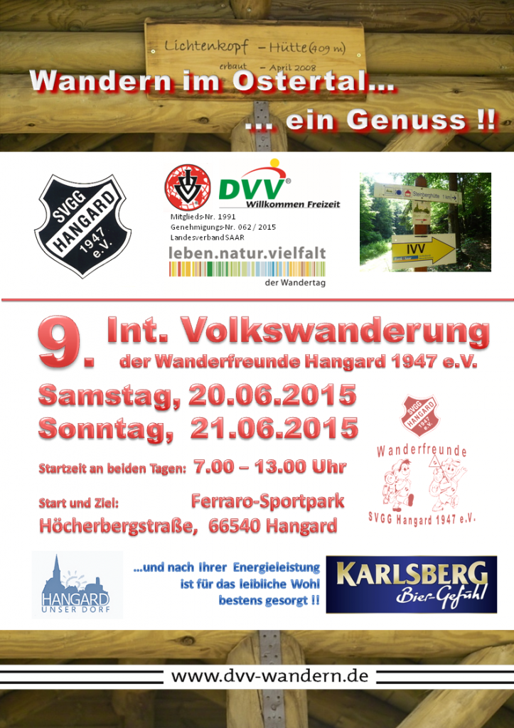 Plakat IVV 2015 1. Entwurf