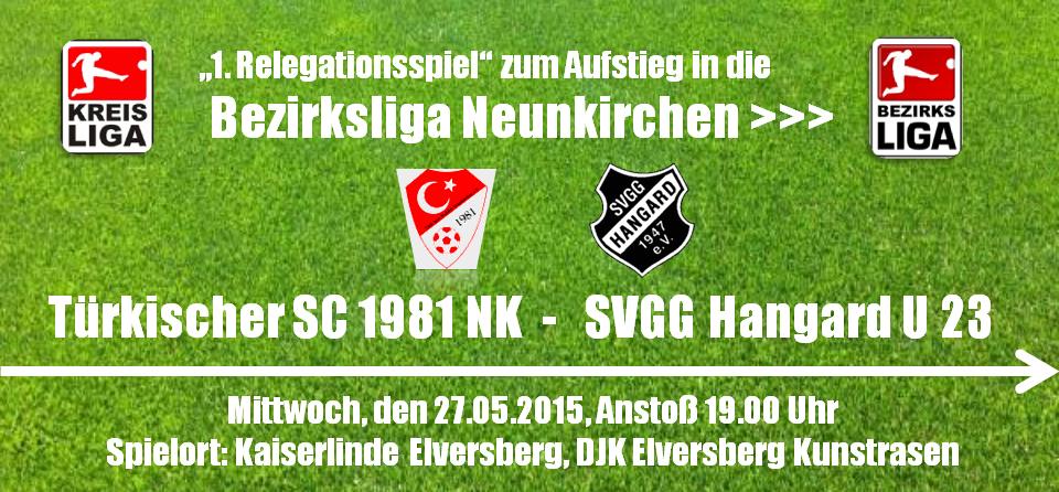 Relegation U 23 27052015