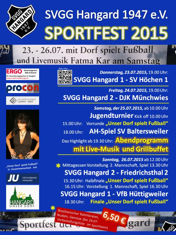 Sportfest Plakat