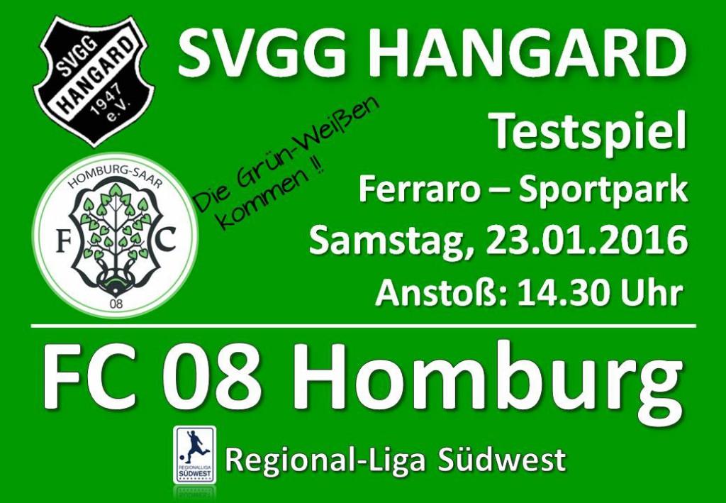 Präsentationseinlage A4 Einkleber FC 08 Homburg